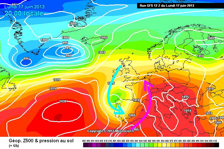 carte de situation du record de douceur ou chaleur pour une température minimale le 18 juin 2013 au Cap Corse météopassion