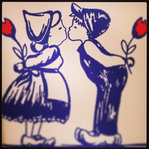 #love and #delftblue