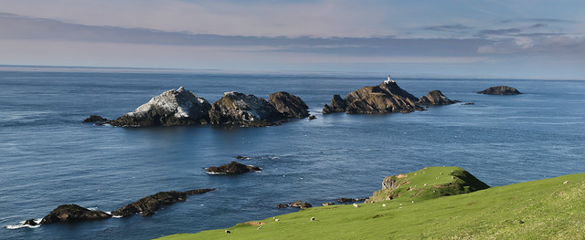 Muckle Flugga - The end of Scotland
