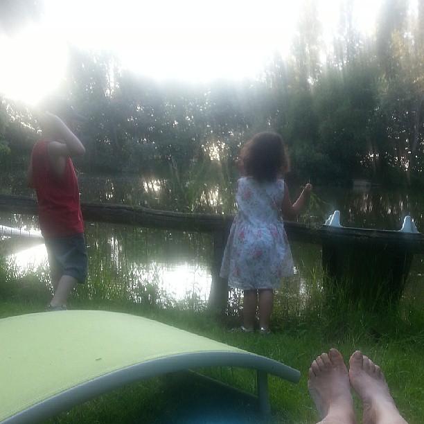 Pause au bord du lac ♥♡♥ #nofiltre #blog #blogueuse #famille #ourlittlefamily #france #family #children