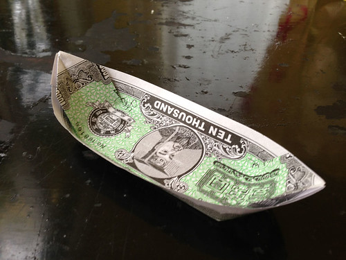 Ghostmoney boat