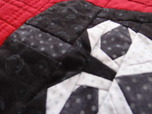 QUILTED PLACEMAT - Darth Vader has wrinkles