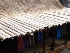 Bamboo guttering