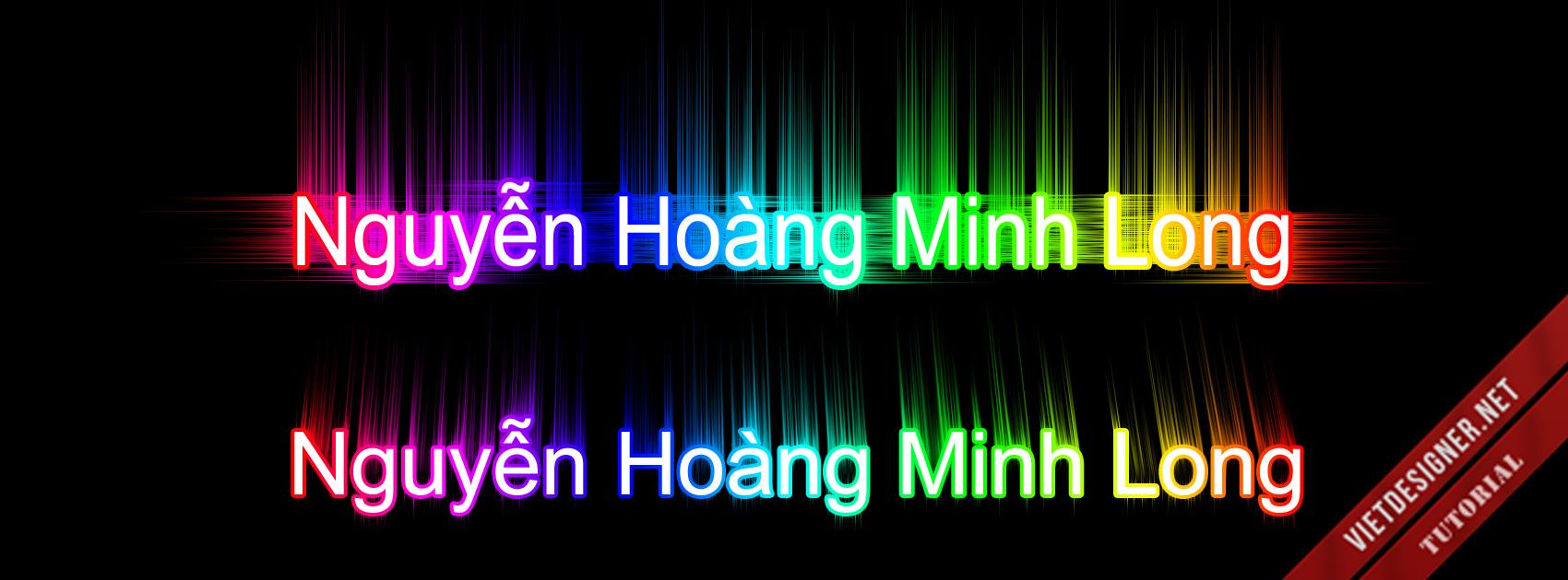 [TUT] Tạo hiệu ứng chữ 7 màu ( Mình đếm có 6 màu ) | Trang 5 | Diễn đàn Designer Việt Nam