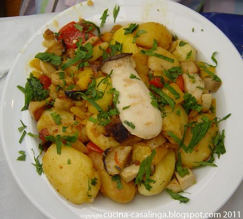 Kartoffel-Pilz-Pfanne