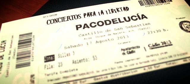 Paco de Lucia em Cadiz