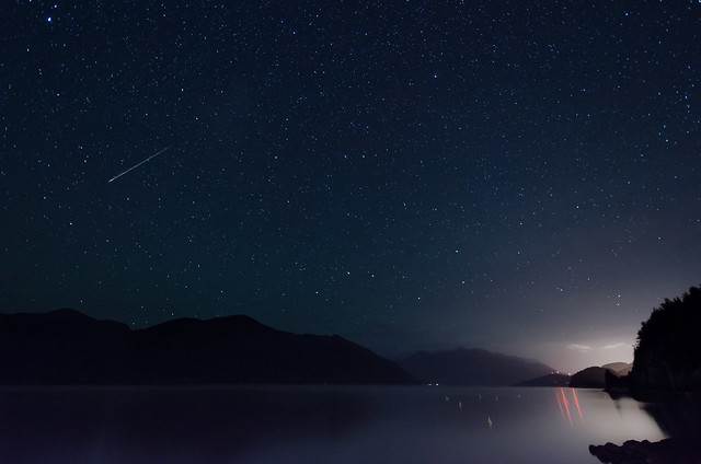 Persied's Meteor from Porteau Cove