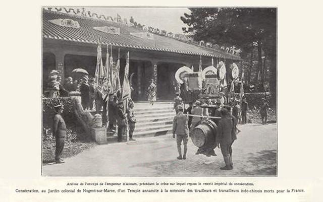 1920  UN TEMPLE ANNAMITE à NOGENT SUR MARNE - Một đền thờ Annam tại Nogent-sur-Marne