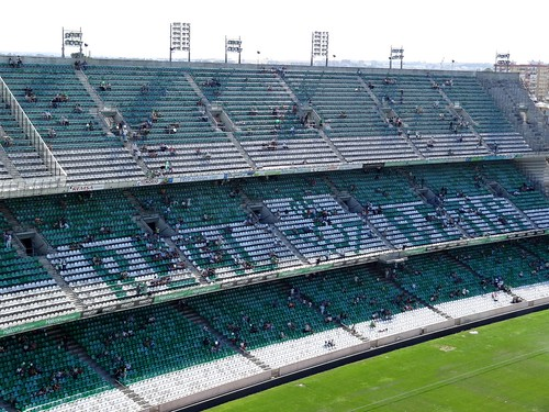 Estadio Benito Villamarín, home of Real Betis Balompie (Sevilla)