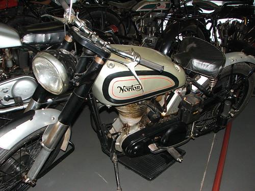 1952 Norton International 40 Motorcycle