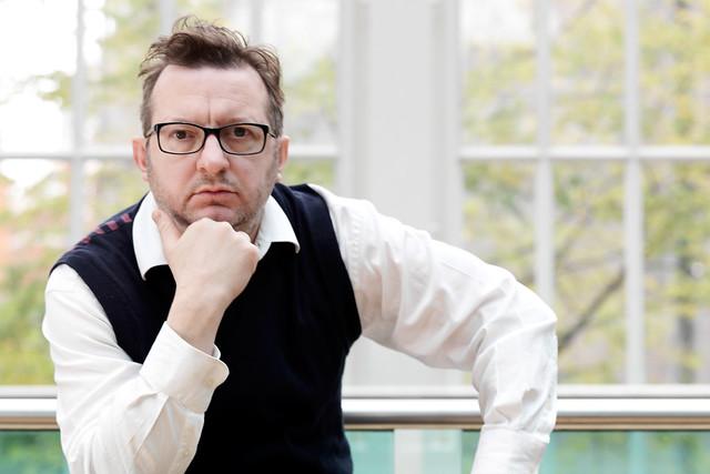 British composer Mark-Anthony Turnage © Philip Gatward