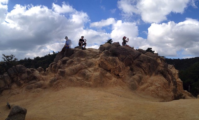 六甲山 風吹岩