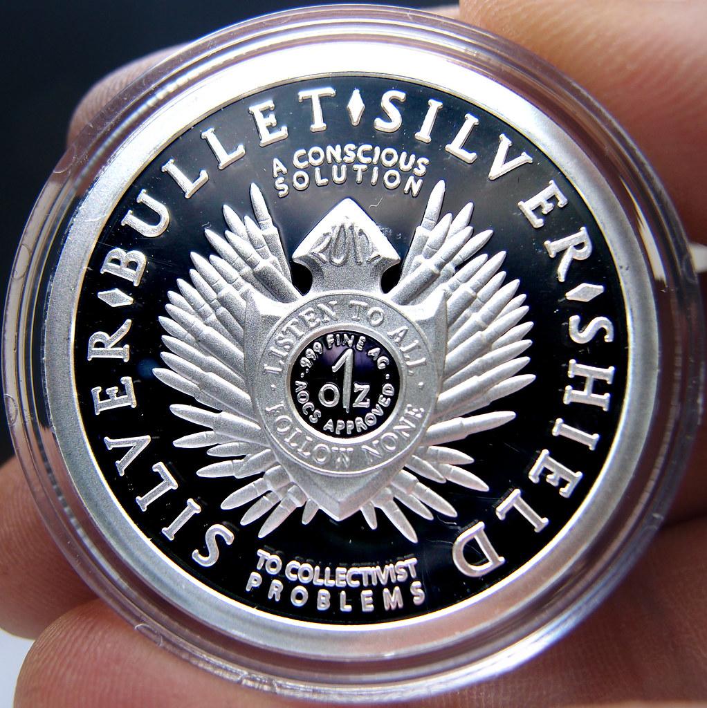 """Colección de onzas de plata """" Silver Bullets & Silver Shield"""" 10173876044_ffe54ee0dc_b"""