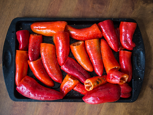 Roasted Red Peppers   Preserving 101 (Freezing) red pepper Pepper October