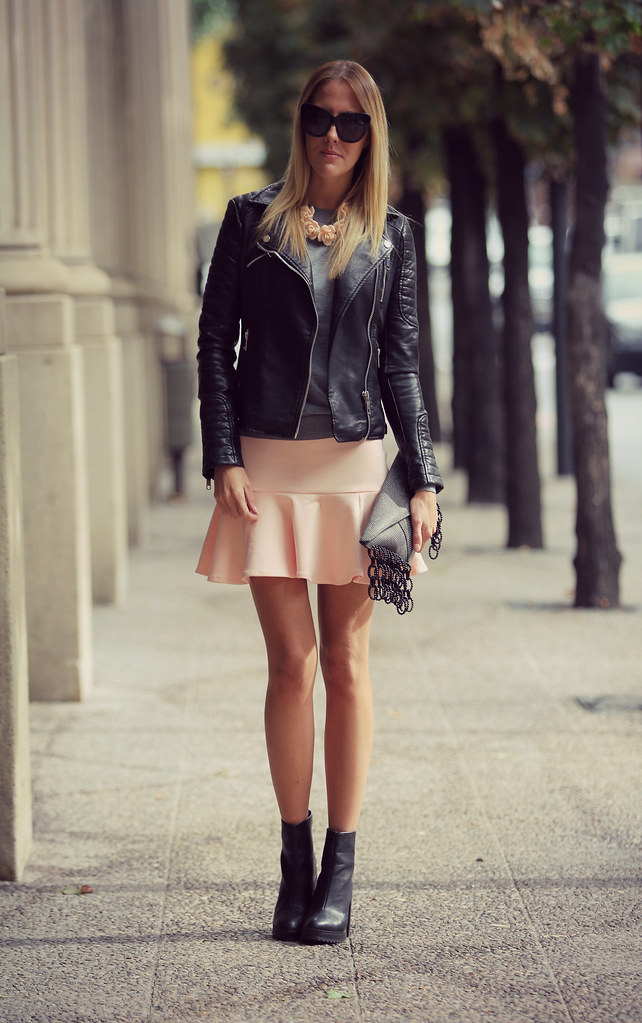 style lover pink skirt