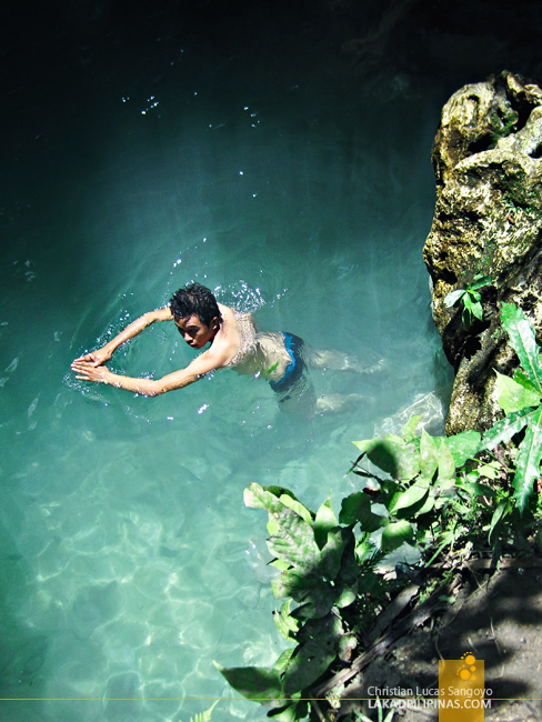 Crystal Waters at Iligan City's Pampam Falls