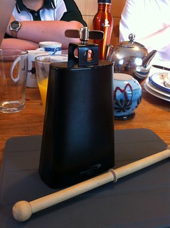 Apparently what my birthday needed was more cowbell.