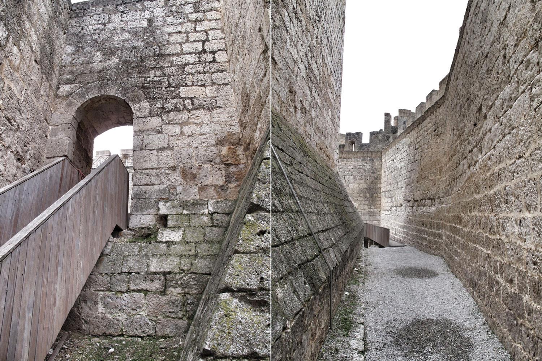 castillo de peñafiel_torre del homenaje_zona baja_patio norte