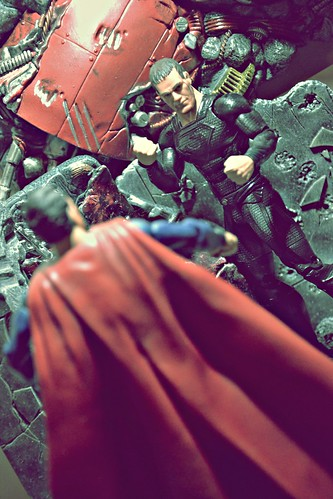 Man of Steel vs General Zod