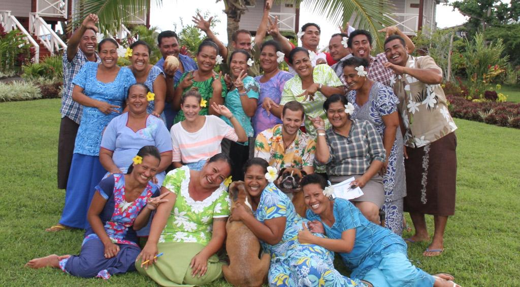 staff Samoa Surf Resort, Salani Surf Lodge Samoa