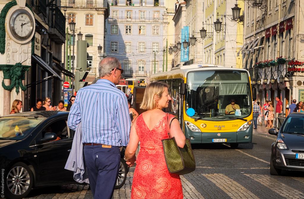 Lisbon, On the Street