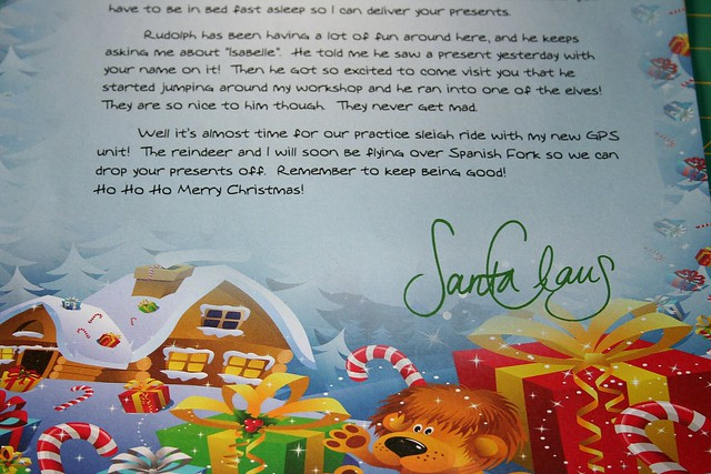 santa will write You are santa claus write a letter to mrs claus explaining why you will be late for dinner again.