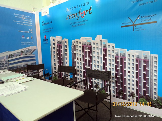 www.aishwaryam.net Essen Group - Aishwaryam Comfort Akurdi & Aishwaryam Melody Pradhikaran  - 94.3 Radio One Pune  'Dream Property Expo' - Pune Property Exhibition - 30th November & 1st December 2013 at Ramee Grand Hotel, Apte Road, Pune