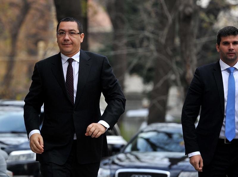 Victor Ponta la reuniunea BPN - 02.12.2013