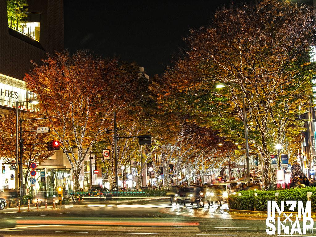 Tokyo Harajuku Omotesando illuminations