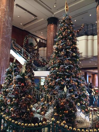 ウエスティンホテルのクリスマスツリー 2013/11