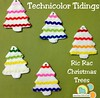 Ric Rac Christmas Tree Free Tutorial and Template