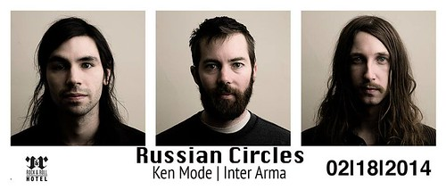 Russian Circles at the R&R Hotel