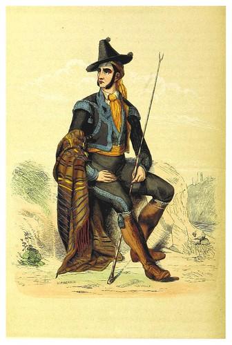 007-Habitante de Jerez-La Spagna, opera storica, artistica, pittoresca e monumentale..1850-51- British Library