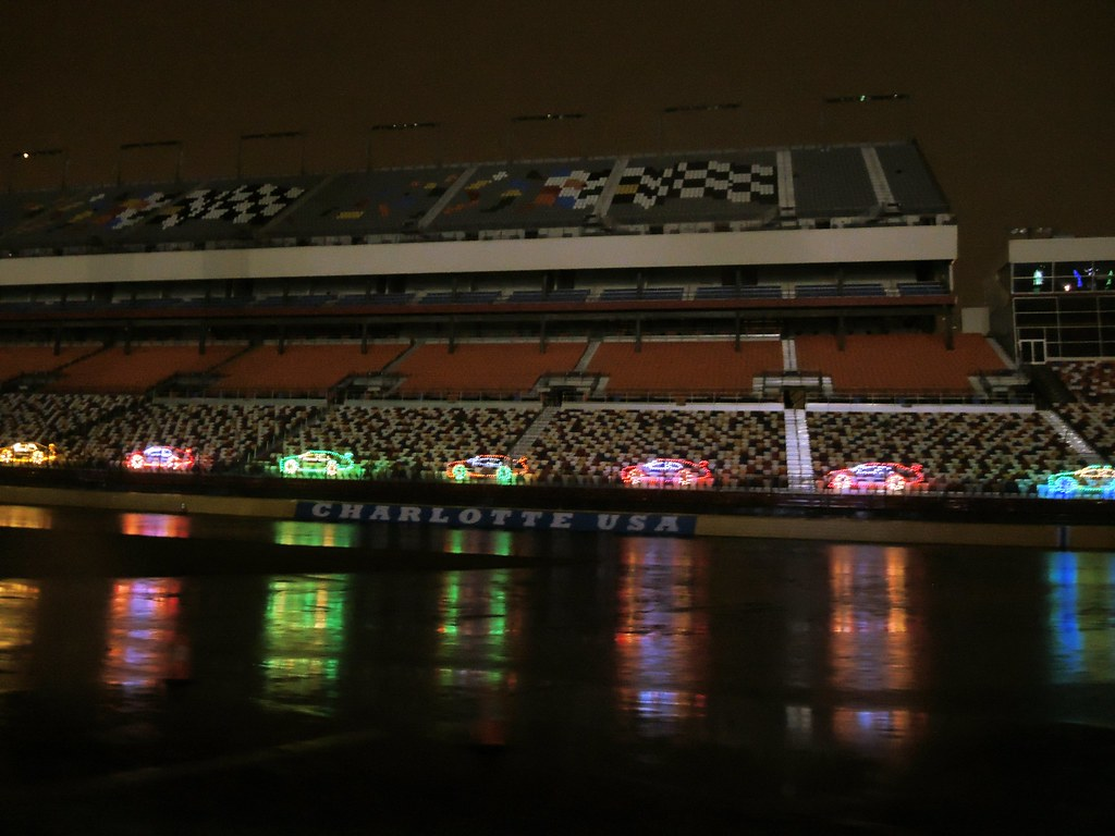 Speedway Christmas.201312221802021 Charlotte Speedway Christmas Light Show Flickr