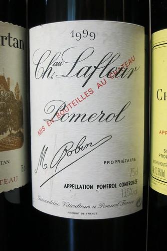 Chateau Lafleur 1999
