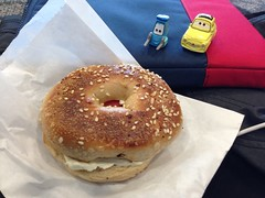doughnut(0.0), breakfast(0.0), produce(0.0), meal(1.0), baking(1.0), baked goods(1.0), food(1.0), dish(1.0), dessert(1.0), cuisine(1.0), bagel(1.0),