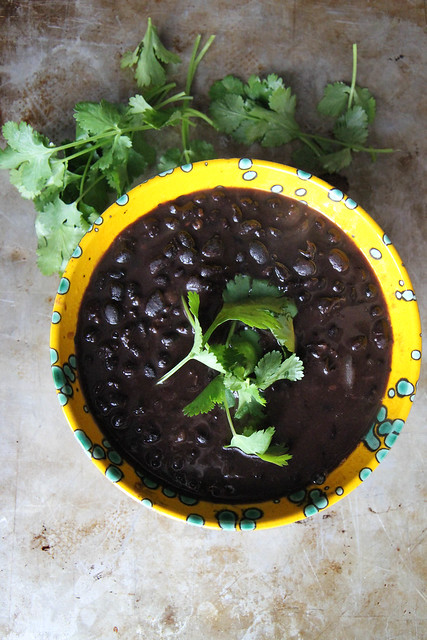 Mexican Style Black Beans
