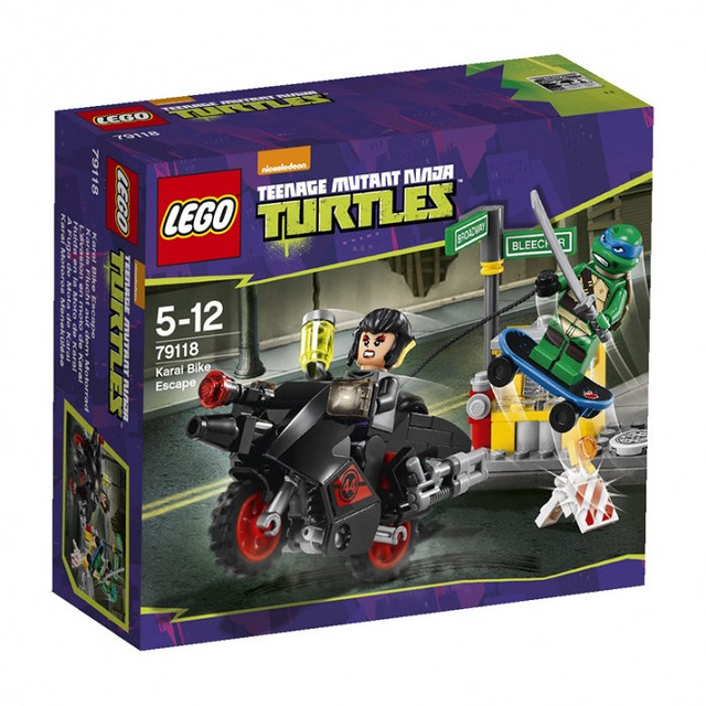 LEGO Teenage Mutant Ninja Turtles 79118 - Karai Bike Escape