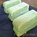 Tarta chiffon de té verde matcha