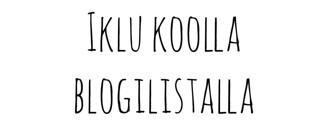 blogilistalla