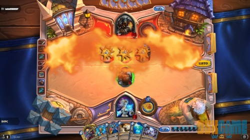 Hearthstone: Heroes of Warcraft carta de hechizos