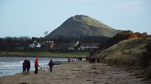 North Berwick Law near sunset
