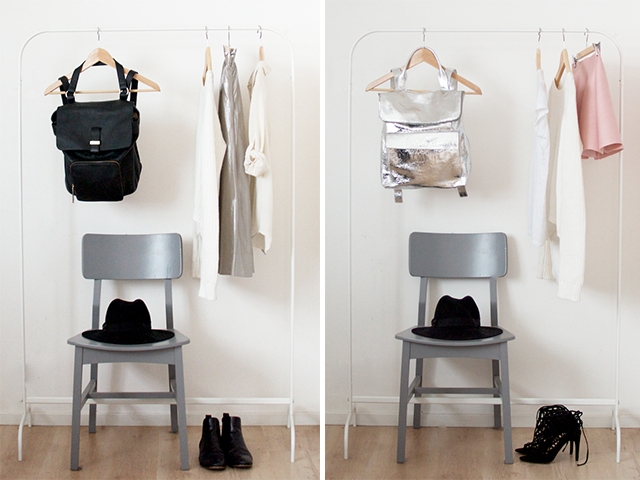 a pair and a spare four ways to wear a backpack