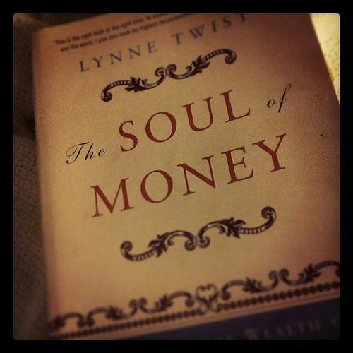 Book No. 5 for the year complete. I'm an absolute bookworm at the moment & loving it. This is a great read for anyone who wants to explore their relationship with money.