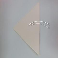 สอนวิธีพับกระดาษเป็นรูปลูกสุนัขยืนสองขา แบบของพอล ฟราสโก้ (Down Boy Dog Origami) 002
