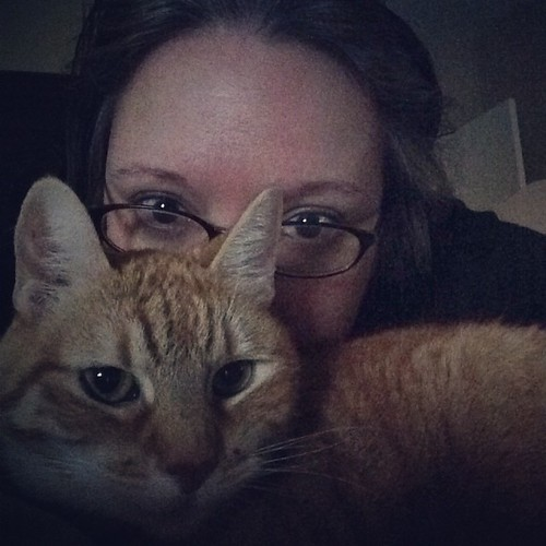 47:365 Sunday selfie with the kitty.
