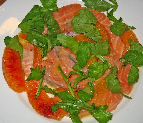 Salmone all'arancia con rucola by fugzu