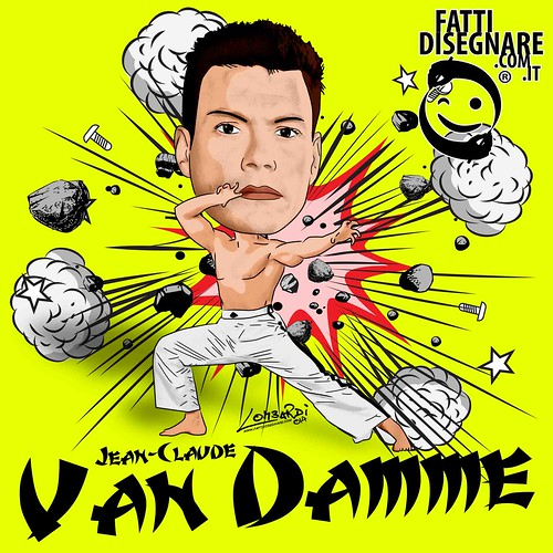 Jean-Claude Van Damme by Giuseppe Lombardi