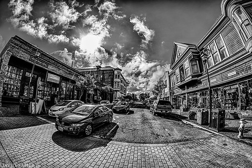 old town eureka by David Safier - redwoodimage