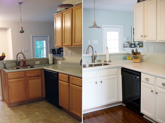 DIY Kitchen Renovation Before & After